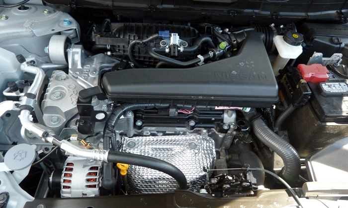 Rogue Reviews: Nissan Rogue engine