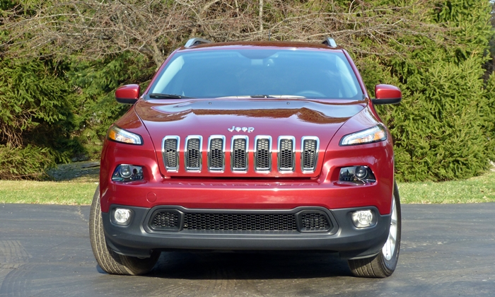 Cherokee Reviews: Jeep Cherokee front view