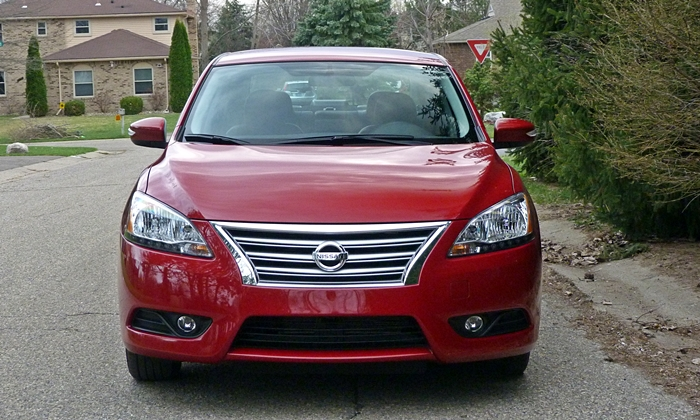 Sentra Reviews: 2014 Nissan Sentra front view
