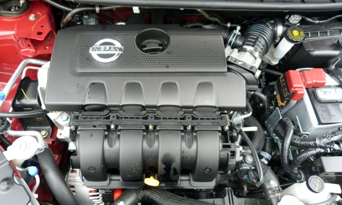 Sentra Reviews: 2014 Nissan Sentra engine