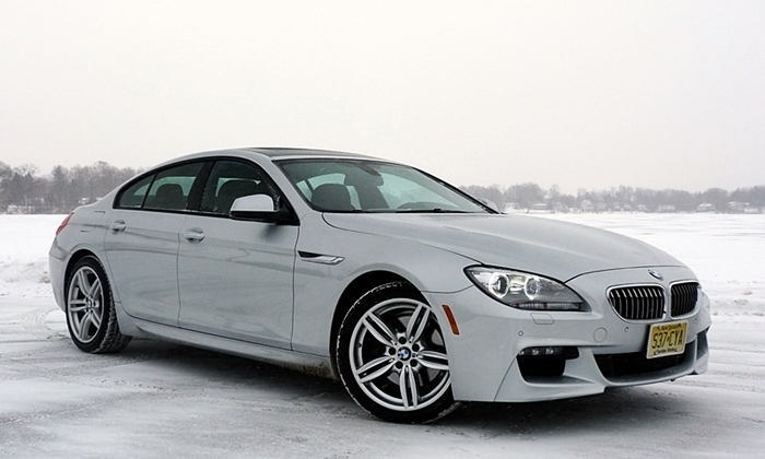 BMW 640i Gran Coupe front quarter view