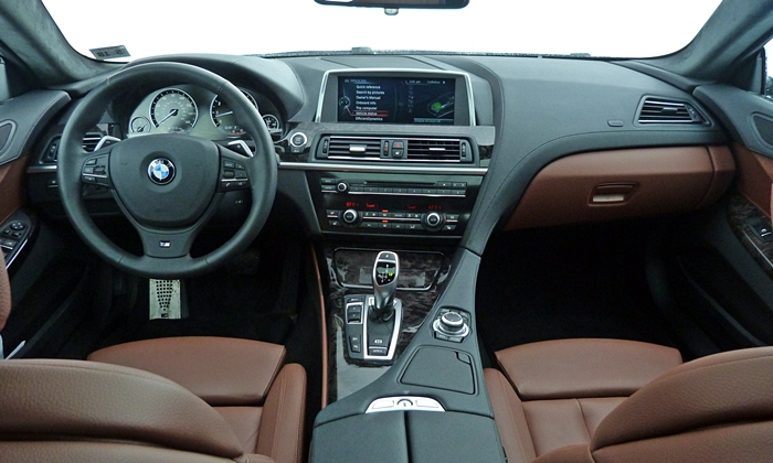 BMW 6-Series Gran Coupe Photos: BMW 640i Gran Coupe instrument panel full