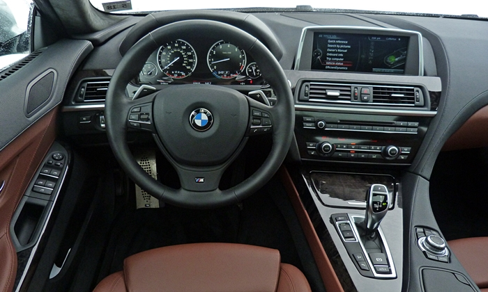 6-Series Gran Coupe Reviews: BMW 640i Gran Coupe instrument panel