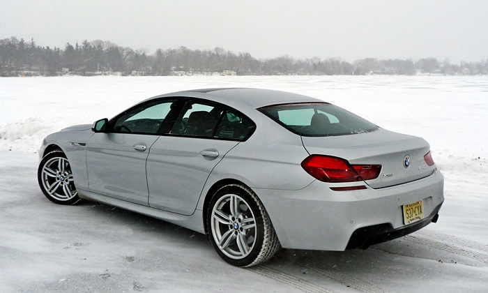 6 Series Gran Coupe Reviews BMW 640i Rear Quarter View High Angle