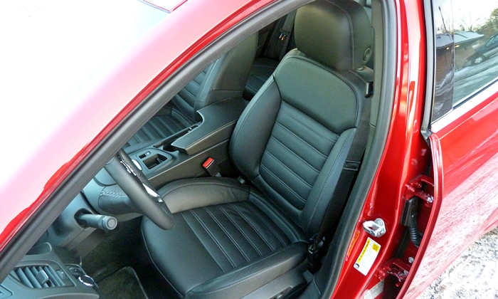 Buick Regal Photos: Buick Regal GS driver seat
