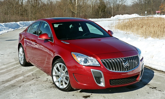 Buick Regal Photos: Buick Regal GS front angle