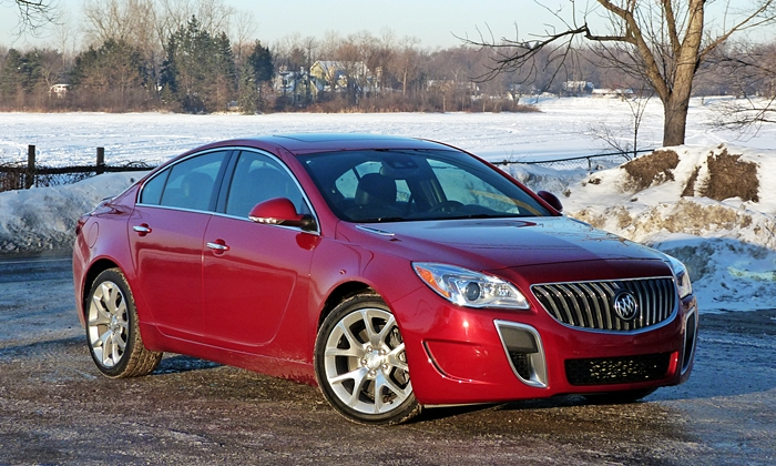Buick Regal GS front quarter view