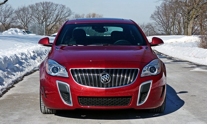 Buick Regal Photos: Buick Regal GS front view