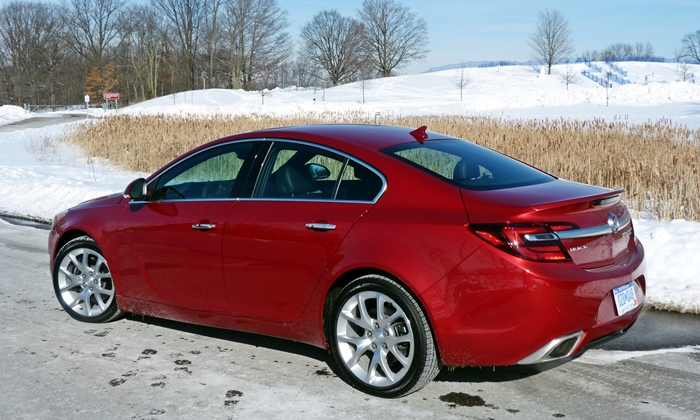 Buick Regal Photos: Buick Regal GS rear quarter view