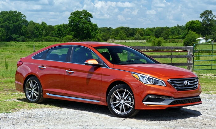 Toyota Of Orange >> 2015 Hyundai Sonata Pros and Cons at TrueDelta: 2015 ...