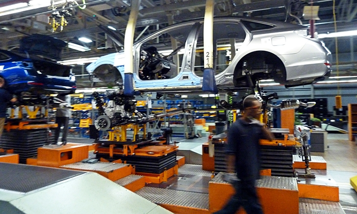 Hyundai Sonata Photos Hyundai Alabama Assembly Plant