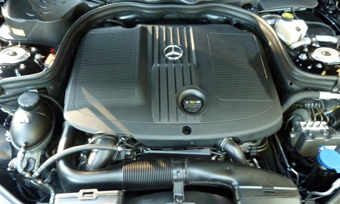 E-Class Reviews: Mercedes-Benz E250 BlueTEC engine