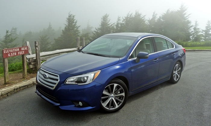Subaru Legacy Photos: Subaru Legacy 3.6R Limited high front angle