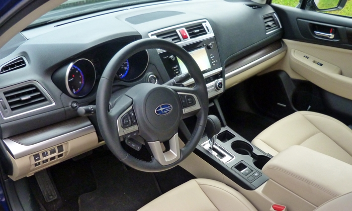 Legacy Reviews: Subaru Legacy 3.6R Limited interior