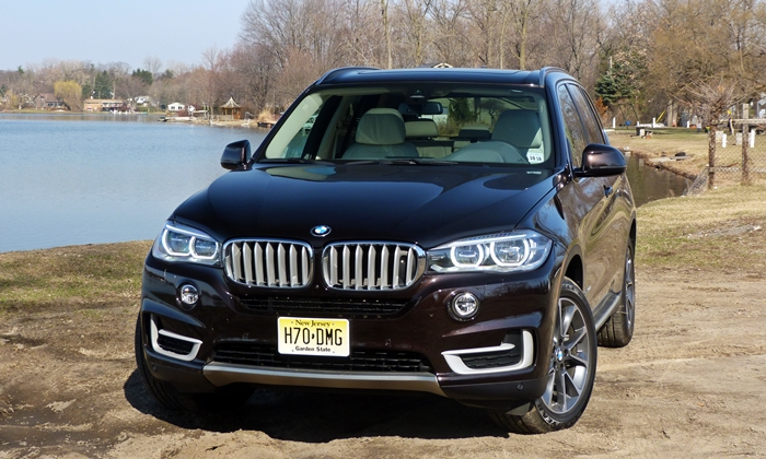 X5 Reviews: 2014 BMW X5 front view