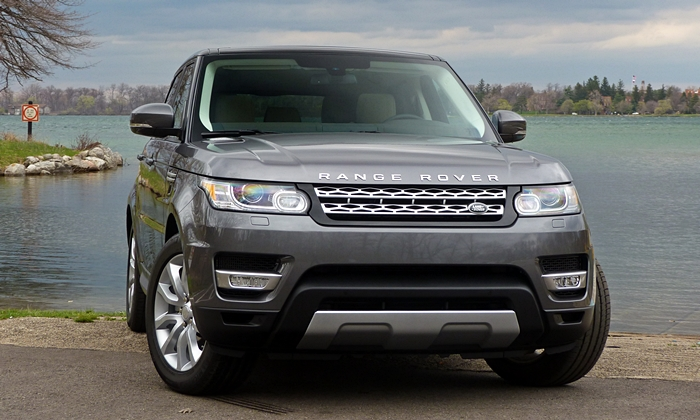 Range Rover Sport Reviews: 2014 Range Rover Sport front view