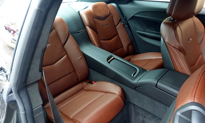 ELR Reviews: Cadillac ELR rear seat