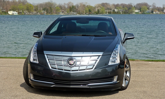 ELR Reviews: Cadillac ELR front view