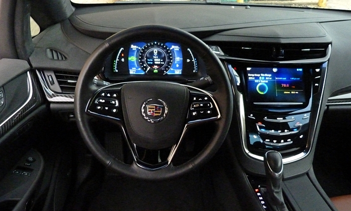 ELR Reviews: Cadillac ELR instrument panel