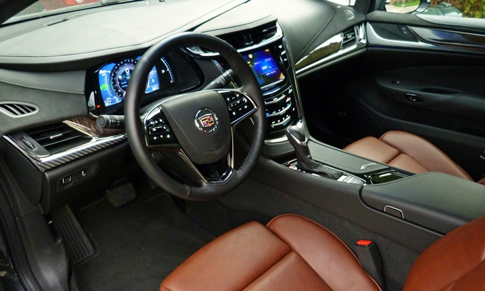 ELR Reviews: Cadillac ELR interior