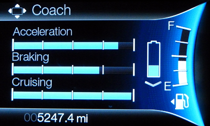 Lincoln MKZ Photos: Lincoln MKZ Hybrid driving style evaluator