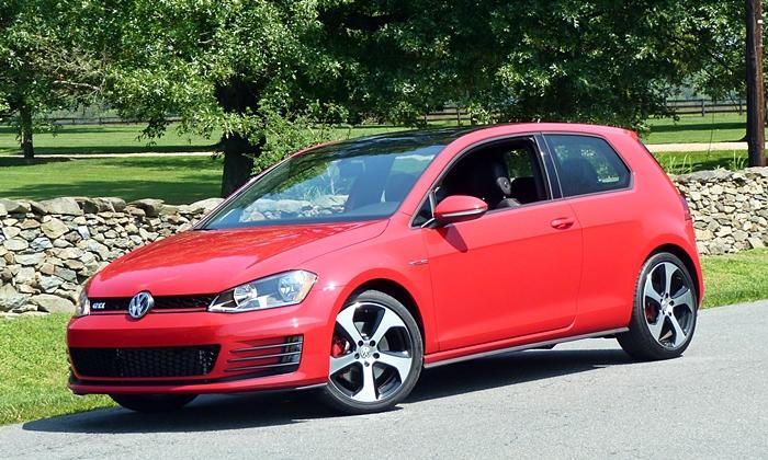 Volkswagen GTI front quarter view