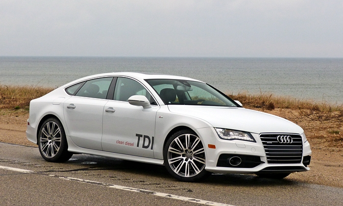A7 / S7 Reviews: Audi A7 TDI front quarter view