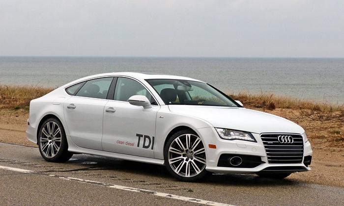 Audi A7 TDI front quarter view