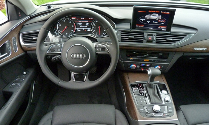 A7 / S7 Reviews: Audi A7 TDI instrument panel