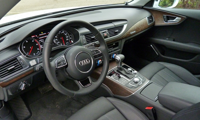 A7 / S7 Reviews: Audi A7 TDI interior