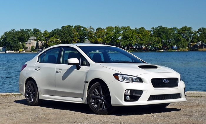 2015 Subaru WRX front quarter view