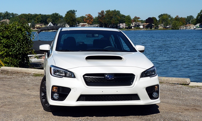 WRX Reviews: 2015 Subaru WRX front view