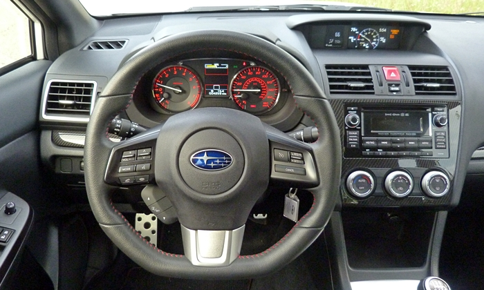 WRX Reviews: 2015 Subaru WRX instrument panel