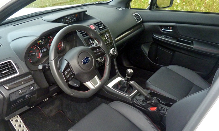WRX Reviews: 2015 Subaru WRX interior