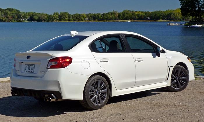 Subaru Wrx Photos 2015 Subaru Wrx Rear Quarter View