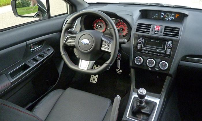 Subaru Wrx Photos 2015 Subaru Wrx Interior Right View
