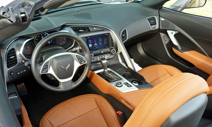 Jaguar F-Type Photos: Chevrolet Corvette interior