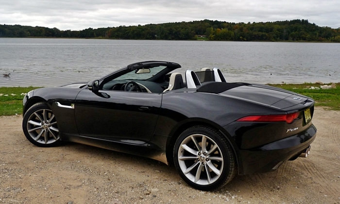 F-Type Reviews: Jaguar F-Type rear quarter