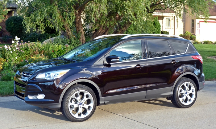 Lincoln MKC Photos: Ford Escape front quarter