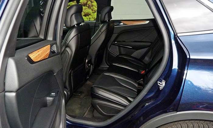 MKC Reviews: Lincoln MKC back seat
