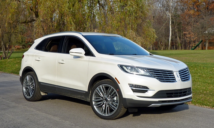Lincoln Mkc Front Quarter View