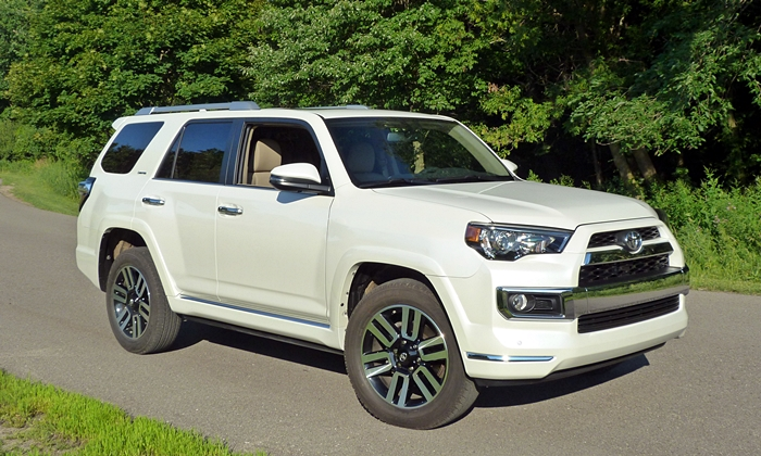 Toyota 4Runner Limited front quarter view