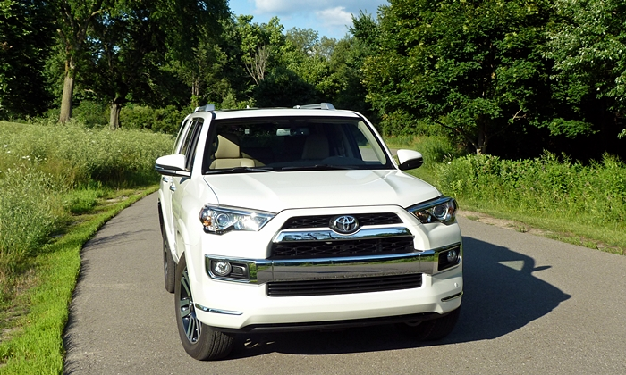 4Runner Reviews: Toyota 4Runner Limited front view