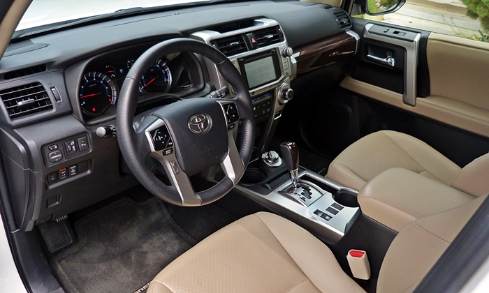 2015 toyota 4runner limited interior. Black Bedroom Furniture Sets. Home Design Ideas