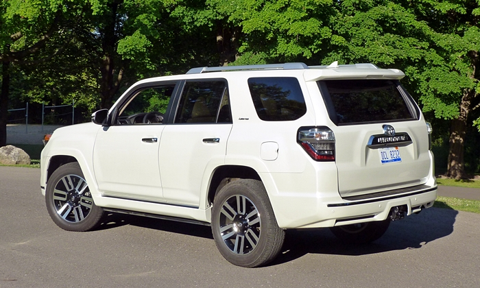 4Runner Reviews: Toyota 4Runner Limited rear quarter view