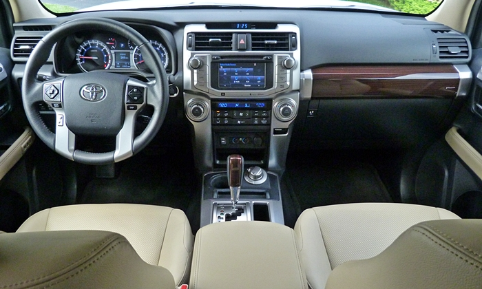 4Runner Reviews: Toyota 4Runner Limited instrument panel full