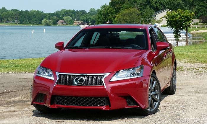 GS Reviews: Lexus GS 350 F Sport front view