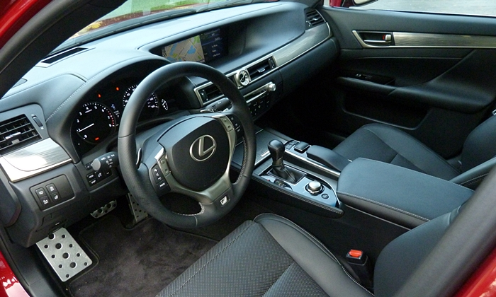 GS Reviews: Lexus GS 350 F Sport interior