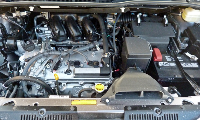 Sienna Reviews: Toyota Sienna engine uncovered