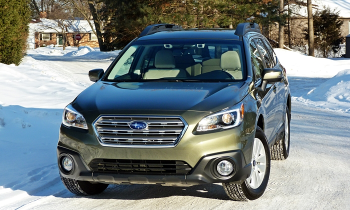 Outback Reviews: Subaru Outback front view